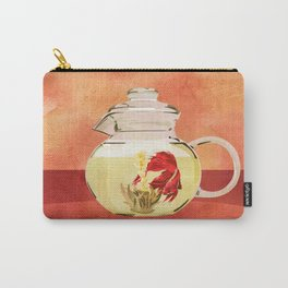 Beta Fish Tea by Kenzie McFeely Carry-All Pouch