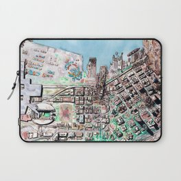 The Seattle Doomsday Map Laptop Sleeve