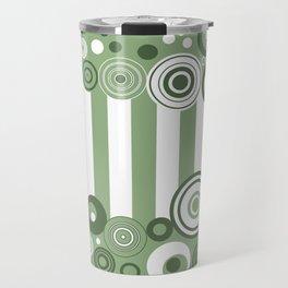 Circles and stripes Travel Mug