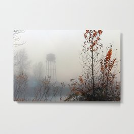 Foggy Day Metal Print