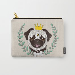 King of Pug Carry-All Pouch