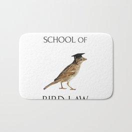 Philadelphia School of Bird Law Bath Mat