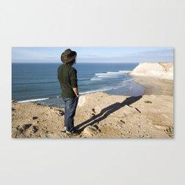 surfEXPLORE Western Sahara Canvas Print
