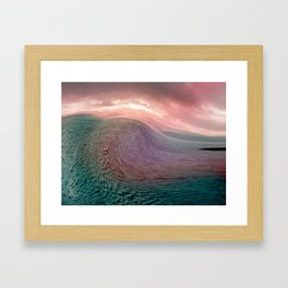 Tidal Wave Framed Art Print