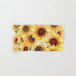 Sunflowers Bloom  Hand & Bath Towel