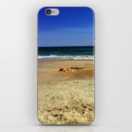 A Day in the Sand iPhone Skin