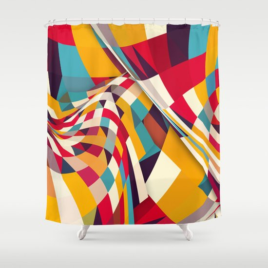 Nazca Shower Curtain