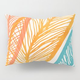 Tropical Flora - Retro Palette Pillow Sham