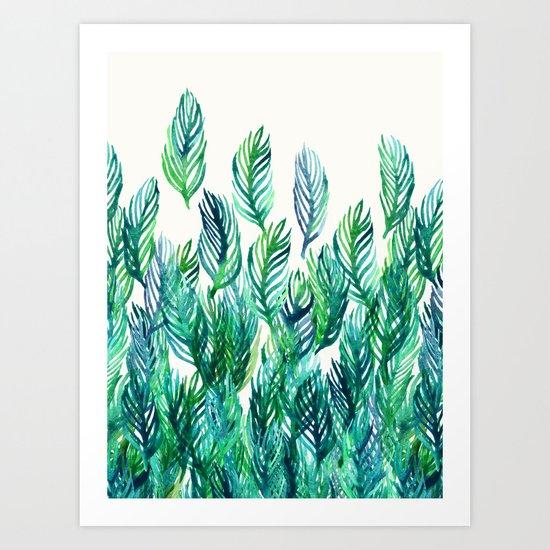 Jungle Rising  Art Print