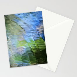 Coastline Mosaic Abstract Art Stationery Cards