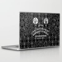 ouija Laptop & iPad Skins featuring OUIJA by DIVIDUS