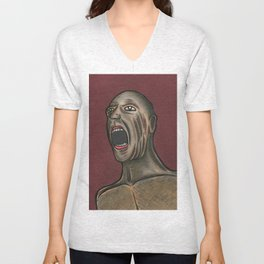 Naked Scream Unisex V-Neck