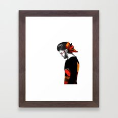Are you with me? Framed Art Print