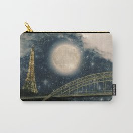 One Starry Night in Paris Carry-All Pouch