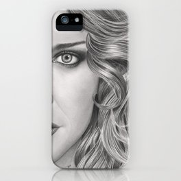 Half Portrait iPhone Case