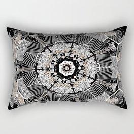 GoldenMandala Rectangular Pillow