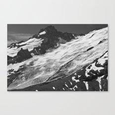 Crevassed Canvas Print