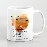 apocalypse now Mugs featuring Apocalypse now by Nxolab