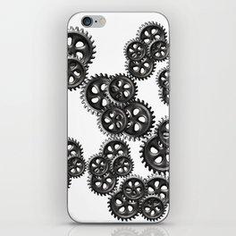 gears grunge iPhone Skin