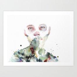green ladies I Art Print