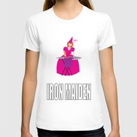 iron maiden T-shirts featuring IRON MAIDEN by mangulica
