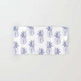 Blue Pineapple Hand & Bath Towel