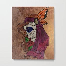 Butterfly Gyspy Metal Print