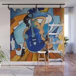 Sonata in Blue Wall Mural