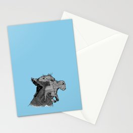 Newspaper Lions Stationery Cards