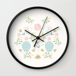 Italian garden composition Wall Clock