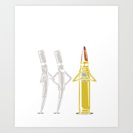 I Would Totally Hit That! For A Gun Owner design Art Print