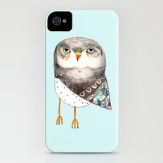 Owl by Ashley Percival iPhone (4, 4s) Slim Case