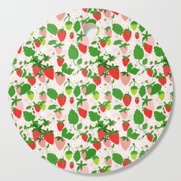 strawberry fields Cutting Board