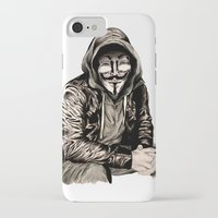gangster iPhone & iPod Cases featuring Anonymous Gangster by 13 Styx