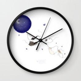 Moon and Stars *New* Wall Clock