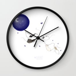 Moon and Stars *New* Wall Clock