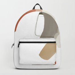 Decor: Contemporary Blush Art Backpack