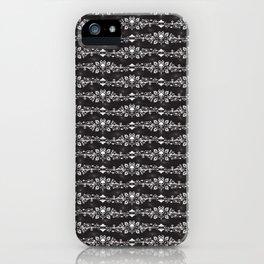 Fleur De Crâne iPhone Case