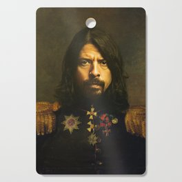 Dave Grohl - replaceface Cutting Board