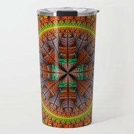 Groovy tribal pattern star Travel Mug
