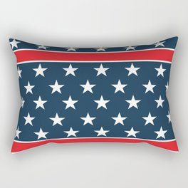 USA flag background. American design #society6 #decor #buyart #artprint Rectangular Pillow