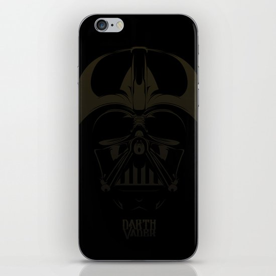 Dark Darth  iPhone & iPod Skin