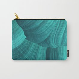 Turquoise Sediment Carry-All Pouch