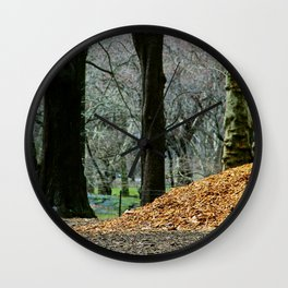 Central Park 80's Wall Clock