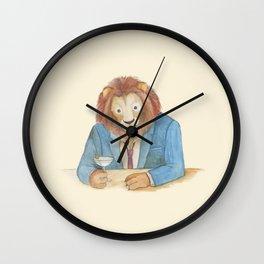 lion _ ligh Wall Clock