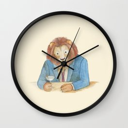 lion _ ligh Wall Clock