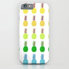 Pineapples lime crush iPhone 6s Slim Case
