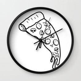 Slice - o - Pie Wall Clock