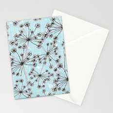 Contemporary Cow Parsley  Stationery Cards