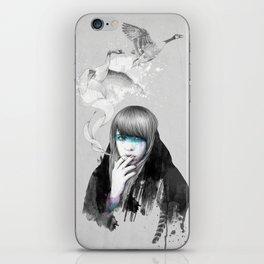 Swan Love iPhone Skin